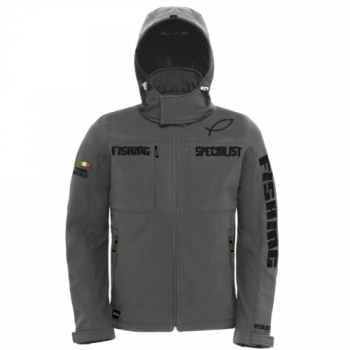 HOTSPOT DESIGN Softshell-Jacke Fishing Specialist